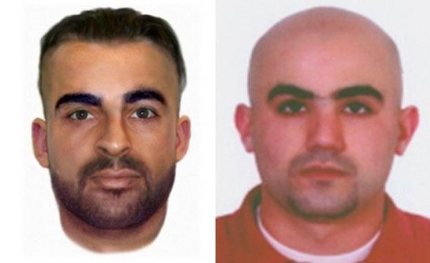 החשודים בתכנון  פיגוע הטרור, מליאד פאראח מימין