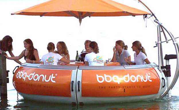 סירת ברביקיו © bbq donut spain (2) (צילום: bbq donut spain)