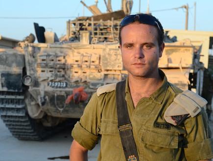 """ישראל ננקנסקי (צילום: ליאור עפרון, עיתון """"במחנה"""")"""