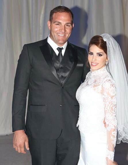 אבירם בן שושן התחתן (צילום: פאביאן קולדורף)