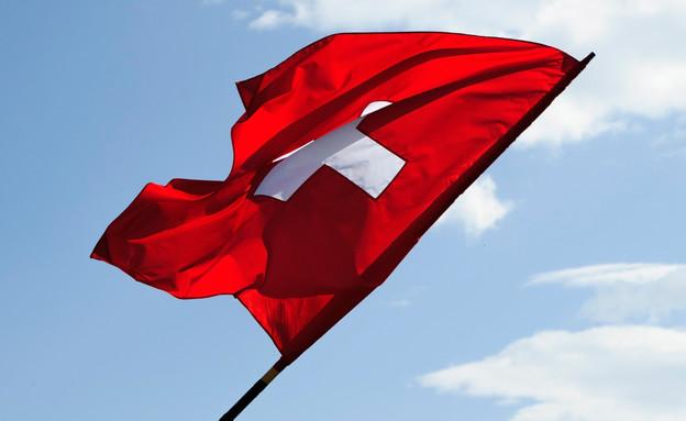 דגל שוויץ (צילום: Harold Cunningham, GettyImages IL)