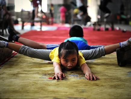 ילדה סינית בת 7