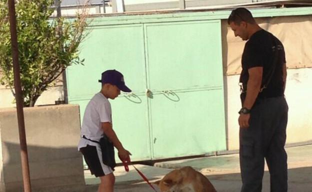 קורס אילוף כלבים (צילום: משטרת מרחב הנגב, משטרת ישראל)