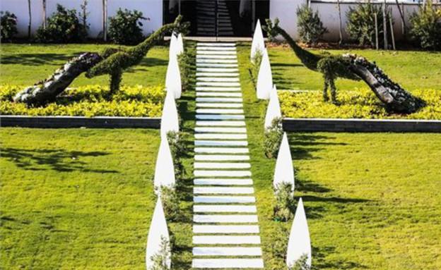 הבית היקר בישראל, דשא (צילום: באדיבות אלון דנין, משרד גלי תכלת)