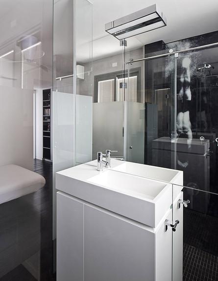 שירותים, מקלחת, לב גרגיר אדריכלים צילום עוזי פורת