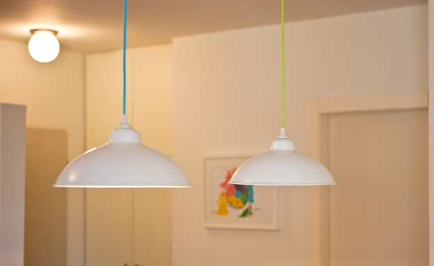 אייר שפירא, מנורות (צילום: גיא שרייבר)