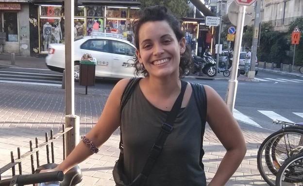 מריאלה, תיירת מאורוגוואי (צילום: לימור בן-רומנו)