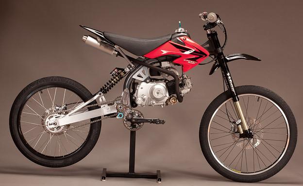 הכלאה בין אופנוע לאופניים (צילום: יצרן )