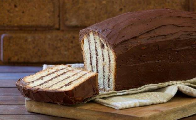 עוגת זברה של אביבה פיבקו (צילום: בני גם זו לטובה, אוכל טוב)