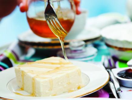 עוגת גבינה של בית מלון של קרין גורן (צילום: דניאל לילה, אוכל טוב)