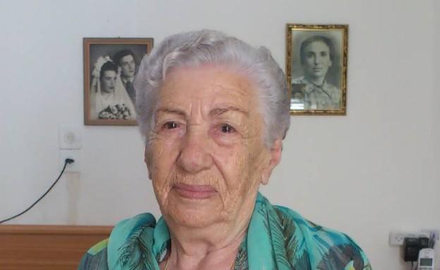 גניה שוורצברט, מתמודדת על התואר מלכת היופי של ניצולות השואה (צילום: תומר ושחר צלמים)