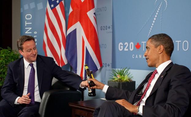 ברק אובמה ודיוויד קמרון (צילום: הבית הלבן)
