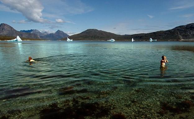 האי הגדול בעולם (צילום: www.dailymail.co.uk)