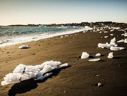 קרח על החוף, גרינלנד