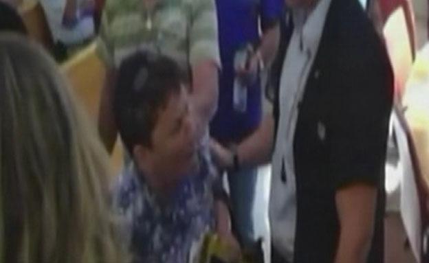 האם בבית המשפט (צילום: חדשות 2)