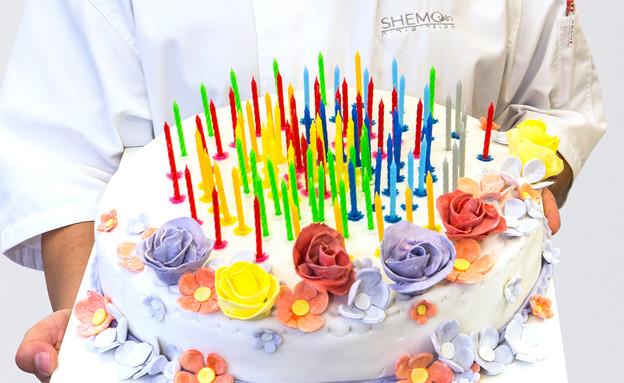 עוגת 100 הימים של מיקי שמו, האח הגדול (צילום: ישראל אלפסה,  יחסי ציבור )