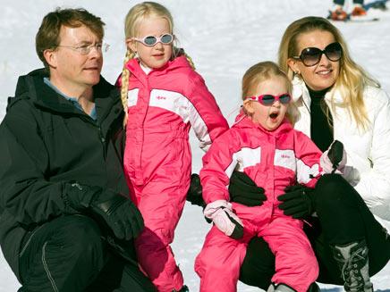הנסיך המנוח פריסו ובנות משפחתו, ארכיון (צילום: רויטרס)