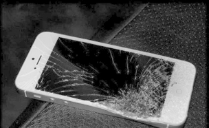 אייפון שבור