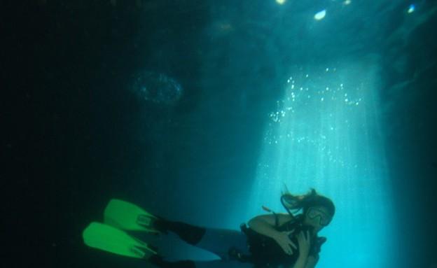 עוד צלילה בנקרות, אתרי צלילה, קרדיט אמיר גור ואיצי (צילום: אמיר גור ואיציק יוגב)