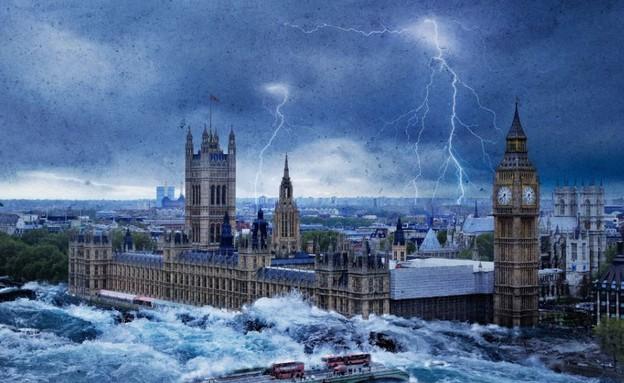 אפוקליפסה בבריטניה (צילום: dailymail.co.uk)
