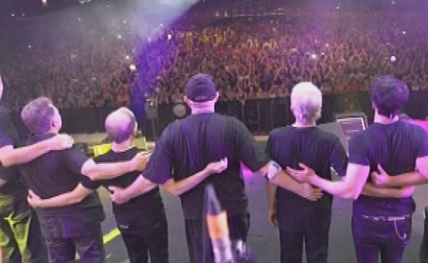 הופעה אחרונה של להקת כוורת (צילום: חדשות 2)