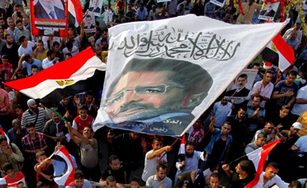 הפגנות מצרים (צילום: חדשות 2)
