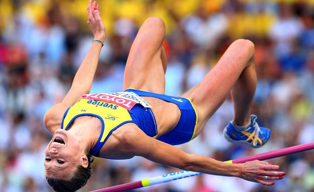 אמה גרין אתלטית שבדית (צילום: אימג'בנק / Gettyimages)