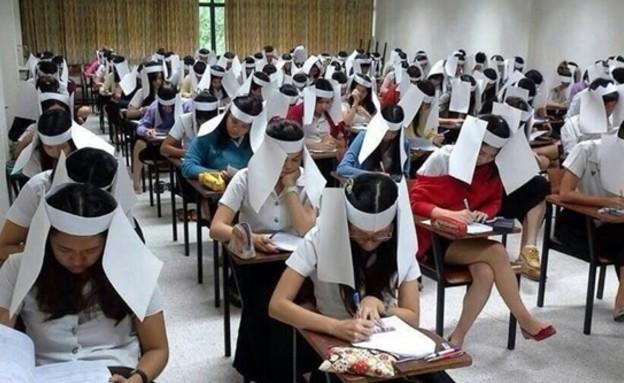כובעי נייר נגד העתקה