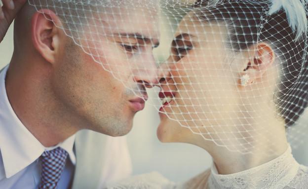 מיה ודרור חתונה (צילום: בן קלמר)