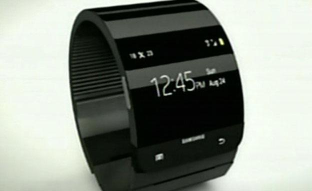 מבזק הטכנולוגיה: המרוץ לשעון החכם בין אפל וסמסונג (צילום: חדשות 2)