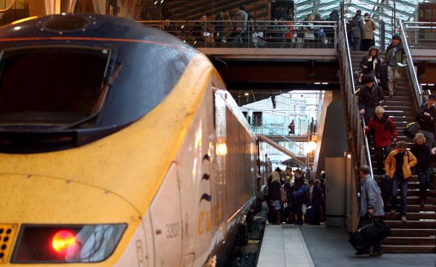 סכנה מיידית לרכבות באירופה, ארכיון (צילום: AP)