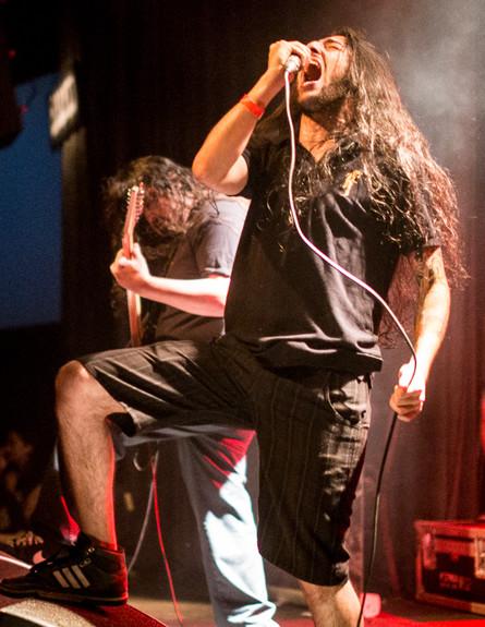 פריום בהופעה (צילום: אביחי לוי)