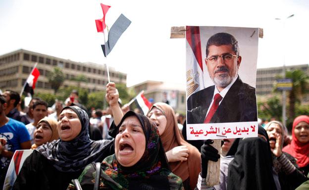 """""""הסוגייה תיבחן לאורך זמן"""". הפגנה במצרים (צילום: רויטרס)"""