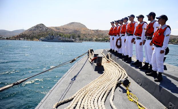 """חיל הים באימון ביוון (צילום: אורי שיפרין, דובר צה""""ל)"""