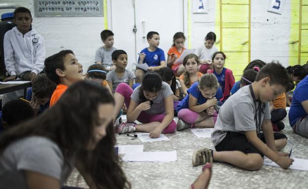 תלמידים בנצרת עלית (צילום: Ilia Yefimovich, GettyImages IL)