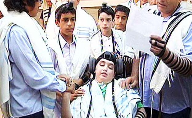 אמיר בבר המצווה (צילום: חדשות 2)