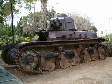 מלחמת העצמאות הטנק בדגניה