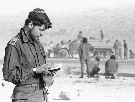 מלחמת יום כיפור חייל מתפלל