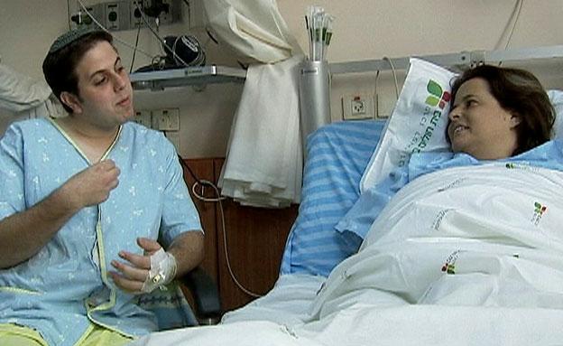 צעיר תרם כליה - לאישה שלא הכיר (צילום: חדשות 2)