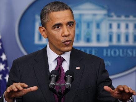 הנשיא השחור הראשון. אובמה (צילום: רויטרס)