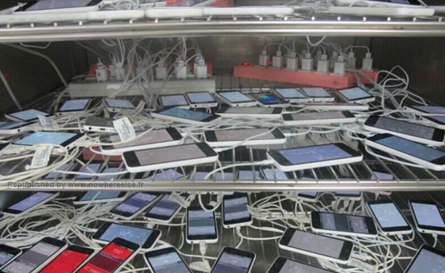 אייפון 5C (צילום: weibo.com)