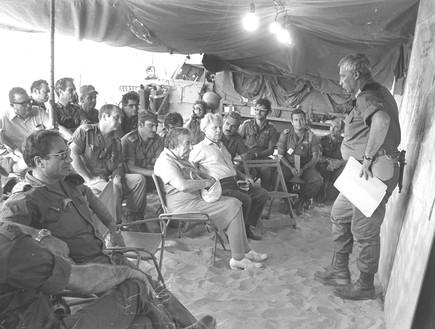 מלחמת יום כיפור פיקוד דרום אריק שרון גורודיש גולדה