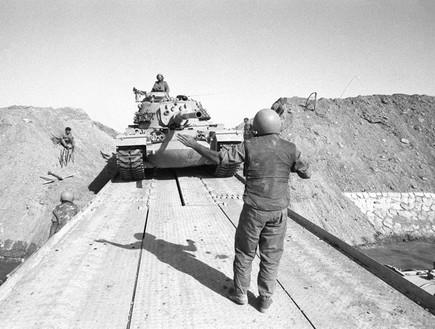 מלחמת יום כיפור חציית תעלת סואץ