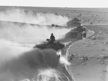 מלחמת יום כיפור טנקים בסיני