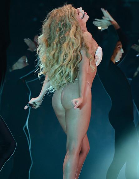 ליידי גאגא, טקס פרסי אמ טי וי 2013 (צילום: Larry Busacca, GettyImages IL)