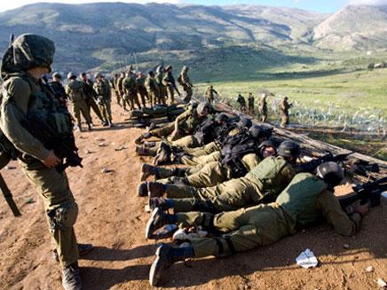 חיילים ברמת הגולן. ארכיון (צילום: AP)