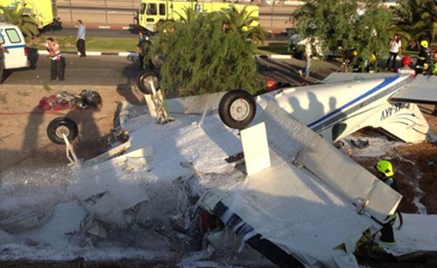 """צפו: שחזור התאונה הקשה (צילום: מד""""א)"""