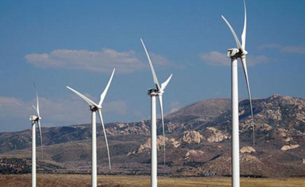 טורבינת רוח (צילום: חדשות 2)