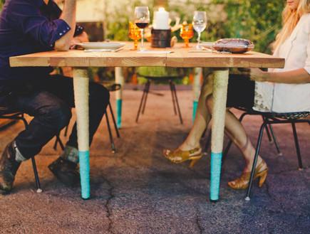 שדרוג שולחן אוכל, רגליים