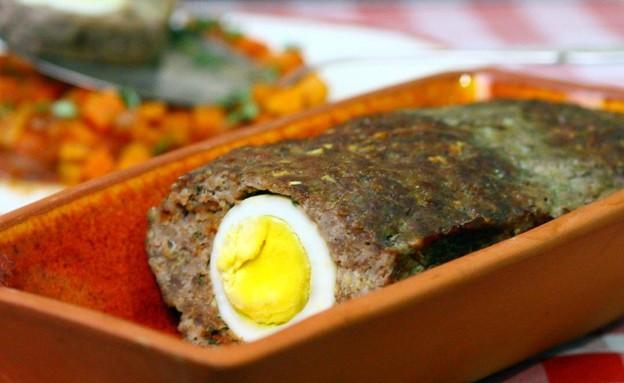 קלופס עם ראגו ירקות (צילום: מאיר קוקבוק, אוכל טוב)